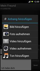 Sony Xperia J - MMS - Erstellen und senden - Schritt 14