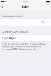 Apple iPhone 4 S - E-Mail - Konto einrichten - 0 / 0
