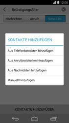 Huawei Ascend P7 - Anrufe - Anrufe blockieren - Schritt 7
