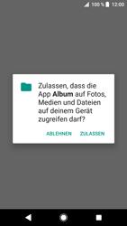 Sony Xperia XZ - MMS - Erstellen und senden - 12 / 16