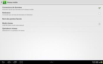 Samsung Galaxy Tab 2 10.1 - Internet et roaming de données - Configuration manuelle - Étape 6