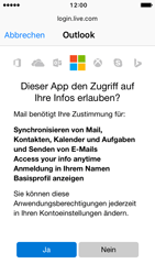 Apple iPhone SE - E-Mail - Konto einrichten (outlook) - 7 / 12