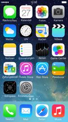 Apple iPhone 5 iOS 7 - Startanleitung - Personalisieren der Startseite - Schritt 3