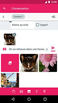 Motorola Moto E4 Plus - Contact, Appels, SMS/MMS - Envoyer un MMS - Étape 18