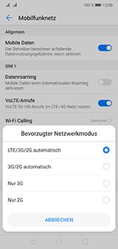 Huawei P20 Lite - Netzwerk - Netzwerkeinstellungen ändern - Schritt 6