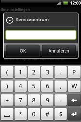HTC A510e Wildfire S - SMS - Handmatig instellen - Stap 8