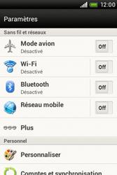HTC A320e Desire C - MMS - Configuration manuelle - Étape 4