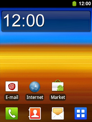 Samsung S5360 Galaxy Y - Bluetooth - headset, carkit verbinding - Stap 1