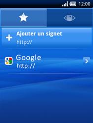 Sony Xperia X10 Mini Pro - Internet - Navigation sur Internet - Étape 8