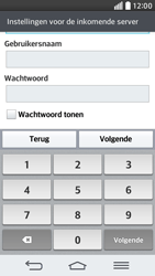 LG D620 G2 mini - E-mail - Account instellen (IMAP zonder SMTP-verificatie) - Stap 11