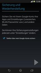 Sony Xperia Z - Apps - Einrichten des App Stores - Schritt 15