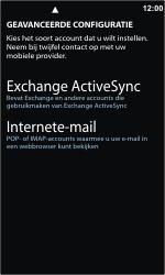 Nokia Lumia 800 - e-mail - handmatig instellen - stap 8