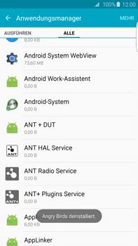Samsung Galaxy S6 edge+ (G928F) - Apps - Eine App deinstallieren - Schritt 9