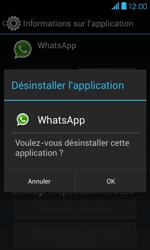 Bouygues Telecom Bs 401 - Applications - Supprimer une application - Étape 7