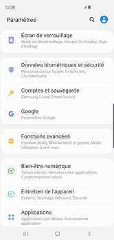 Samsung Galaxy S10 - Sécuriser votre mobile - Personnaliser le code PIN de votre carte SIM - Étape 4