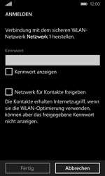Nokia Lumia 635 - WiFi - WiFi-Konfiguration - Schritt 7