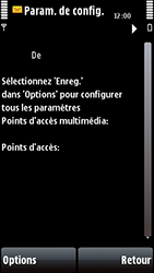 Nokia 5800 Xpress Music - MMS - configuration automatique - Étape 8