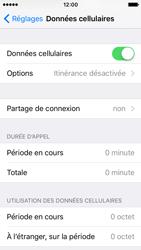 Apple iPhone SE - Internet - désactivation du roaming de données - Étape 4