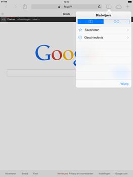Apple iPad Air - Internet - hoe te internetten - Stap 9