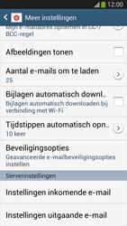 Samsung I8190 Galaxy S III Mini - E-mail - Instellingen KPNMail controleren - Stap 13