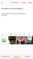 Samsung J510 Galaxy J5 (2016) DualSim - E-Mail - E-Mail versenden - Schritt 12
