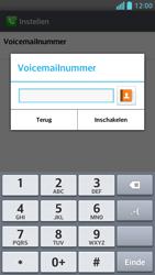 LG P875 Optimus F5 - Voicemail - handmatig instellen - Stap 8