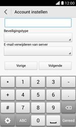 Huawei Ascend Y330 - E-mail - e-mail instellen: POP3 - Stap 12