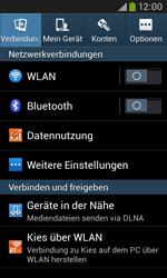 Samsung Galaxy Grand Neo - Netzwerk - Netzwerkeinstellungen ändern - 4 / 8