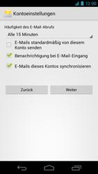 Samsung I9250 Galaxy Nexus - E-Mail - Konto einrichten - Schritt 12