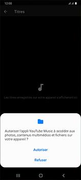 Samsung Galaxy A41 - Photos, vidéos, musique - Ecouter de la musique - Étape 7