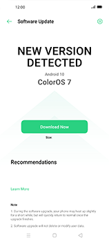 Oppo Find X2 Neo - Software - Installing software updates - Step 6