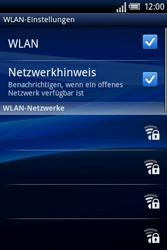 Sony Ericsson Xperia X8 - WLAN - Manuelle Konfiguration - 7 / 10