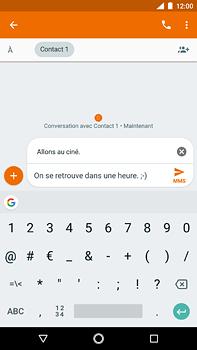 Nokia 6 (2018) - MMS - envoi d'images - Étape 9