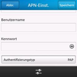 BlackBerry Q10 - Internet - Apn-Einstellungen - 9 / 21
