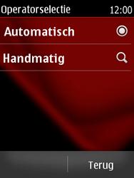 Nokia Asha 300 - Netwerk - Handmatig netwerk selecteren - Stap 9