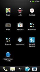 HTC One Mini - Applicazioni - Come verificare la disponibilità di aggiornamenti per l