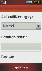 Samsung S5230 Star - MMS - Manuelle Konfiguration - Schritt 10
