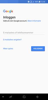 Samsung Galaxy A8 (2018) - apps - account instellen - stap 4
