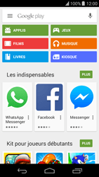 Wiko Highway Pure - Applications - Configuration de votre store d