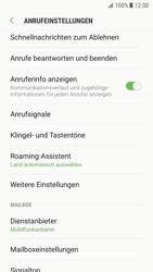 Samsung Galaxy S7 - Android Nougat - Anrufe - Rufumleitungen setzen und löschen - Schritt 6