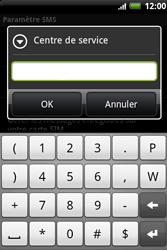HTC A510e Wildfire S - SMS - Configuration manuelle - Étape 8
