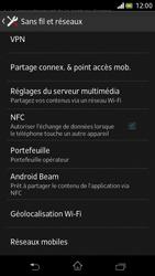 Sony Xperia V - Internet et roaming de données - Configuration manuelle - Étape 5