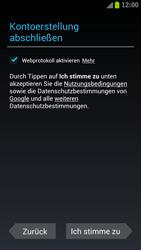 Samsung I9300 Galaxy S III - Apps - Konto anlegen und einrichten - Schritt 11