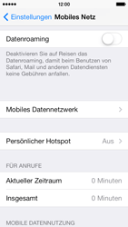 Apple iPhone 5c - Internet und Datenroaming - Manuelle Konfiguration - Schritt 9