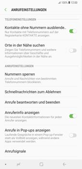 Samsung Galaxy Note9 - Anrufe - Anrufe blockieren - Schritt 7