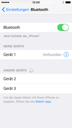Apple iPhone SE - Bluetooth - Geräte koppeln - 1 / 1