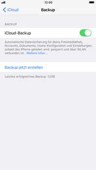Apple iPhone 6 Plus - Software - iCloud synchronisieren - 9 / 10