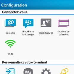 BlackBerry Q10 - E-mail - Configuration manuelle - Étape 4