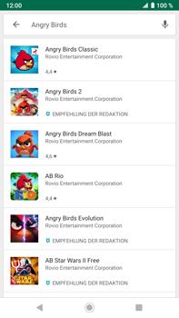 Sony Xperia XZ2 Premium - Android Pie - Apps - Herunterladen - Schritt 15