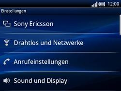 Sony Ericsson Xperia X10 Mini Pro - Netzwerk - Netzwerkeinstellungen ändern - Schritt 4
